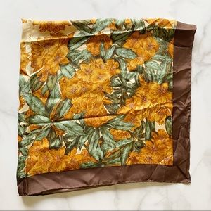 Liberty of London Vintage Floral Silk Scarf